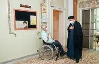حضور رییسی در آسایشگاه جانبازان امام خمینی (ره) (4)