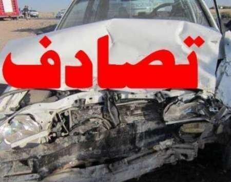 3 کشته و 5 زخمی در تصادف زنجیرهای تریلر و سواریها