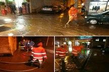 آب افتادگی در 53 نقطه شهر مشهد