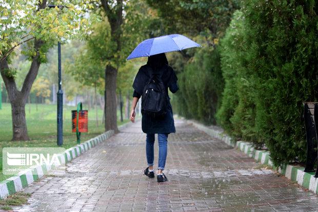 سامانه بارشی وارد همدان میشود