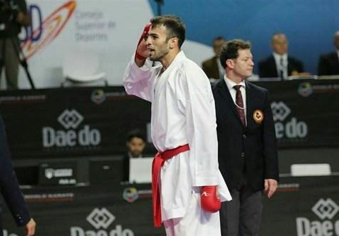 عسگری در لیگ جهانی کاراته وان پاریس طلایی شد