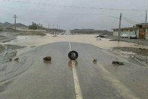 سیلاب راه ارتباطی ۹۱ روستای تفتان و میرجاوه را مسدود کرد