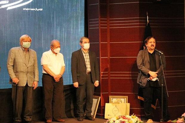 اهدای اولین لوح ویژه فرهنگستان هنر به مجید مجیدی