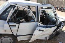 2 کشته و مصدوم در تصادف جاده اهرم به برازجان