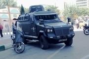 تصویر خودروهای زرهی امنیتی در تهران