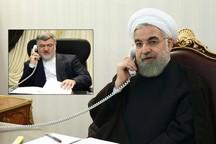 رئیس جمهوری بر استفاده از تمام ظرفیت ها برای رسیدگی به مشکلات سیل تاکید کرد