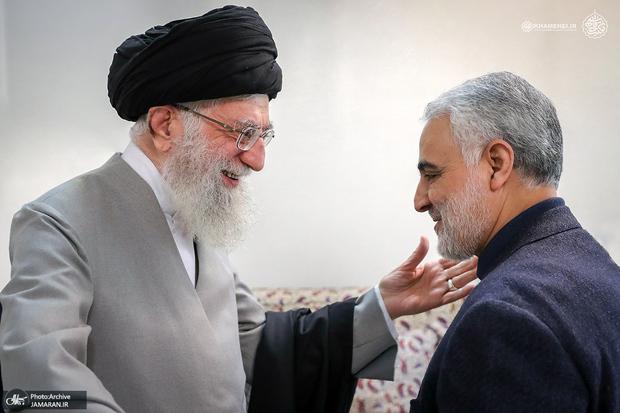 پست اینستاگرامی سایت رهبر انقلاب همزمان با نخستین سالگرد شهادت سردار سلیمانی + عکس