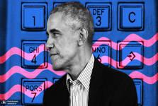 اوباما شماره تلفن اش را منتشر کرد