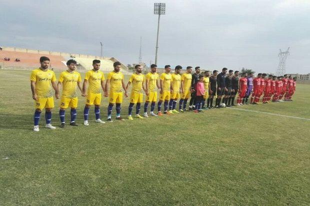 نفت و گاز گچساران در لیگ دسته دوم فوتبال شهدای رزکان کرج را برد