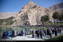 **500 هزار نفر از جاذبه های گردشگری کرمانشاه دیدن کردند