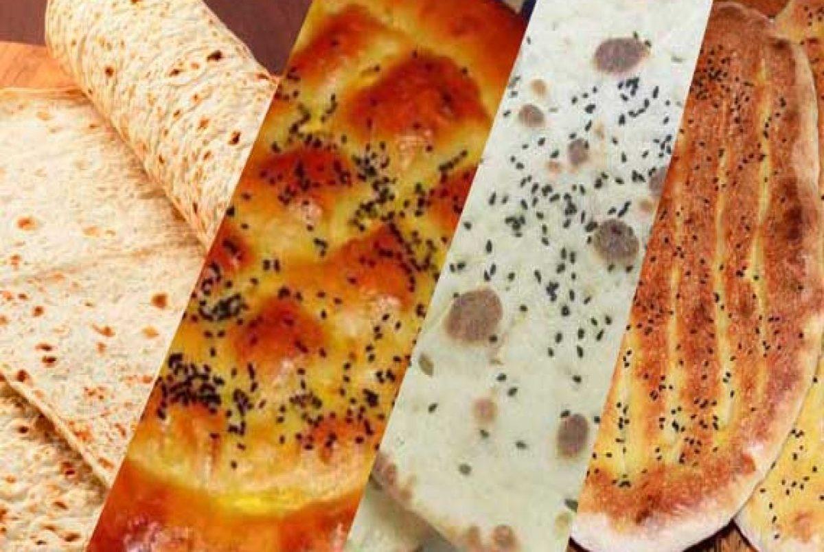 افزایش قیمت نان ابلاغ شد + نرخ جدید انواع نان