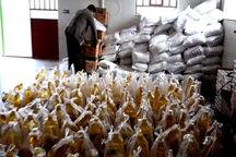 مددجویان کمیته امداد بهاباد ۴۰۰ سبدغذایی دریافت کردند