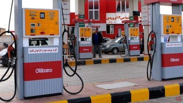 سوختگیری با کارت سوخت در اصفهان موجب صف بنزین نشد