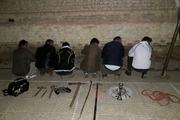 دستگیری شبکه حفاران غیرمجاز در مهاباد