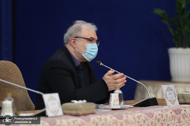 ببینید/ واکنش غیرمستقیم وزیر بهداشت به اظهارات رییس جمهور؟