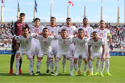 تیم ملی فوتبال ایران همچنان اول آسیا و  بیست و دوم جهان