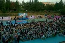 جشنواره ورزشی بانوی کرامت در قزوین برگزار شد