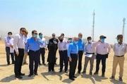 بازدید هیئت مدیره پتروشیمی جم از پروژه فاز 3 (PDH-PP)