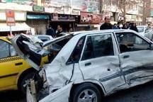 حادثه های رانندگی در کاشان روند افزایشی دارد
