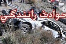 تصادف در جنوب کرمان 10 مصدوم برجای گذاشت