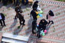 دومین دوره مسابقات نجات تخم مرغ در دانشگاه آزاد خوی برگزار شد