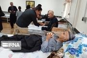 سرای سالمندان سقز برای مقابله با ویروس کرونا ضدعفونی شد
