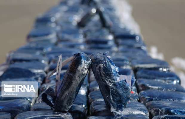 ۱۴۶ کیلو گرم مواد مخدر در مشهد کشف شد