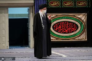 عزاداری شام شهادت حضرت زهرا (س) در حسینیه امام خمینی(ره)