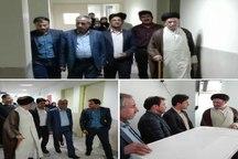 بخش بستری بیمارستان 56 تخت خوابی دیر بوشهر راه اندازی شد