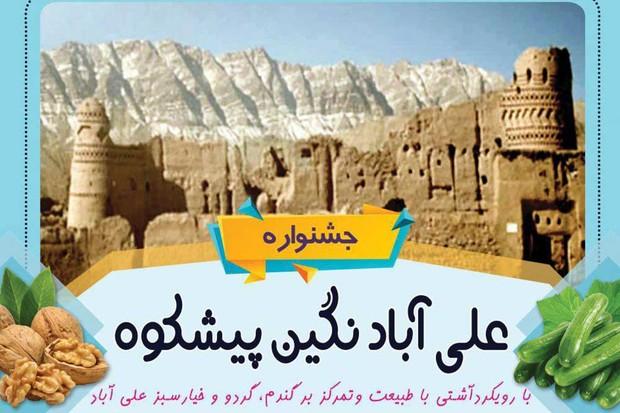 جشنواره «علیآباد، نگین پیشکوه» در شهرستان تفت برگزار شد