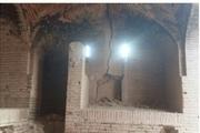 بارندگی به هفت بنای تاریخی داورزن آسیب زد