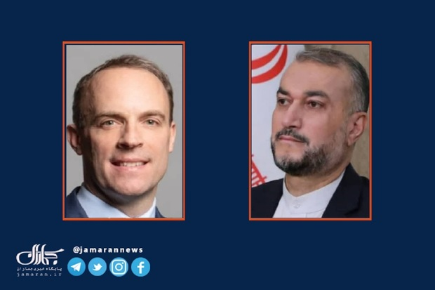 امیرعبداللهیان خطاب به وزیر خارجه انگلیس: دولت در حال مشورتهای داخلی در مورد نحوه ادامه مذاکرات وین است