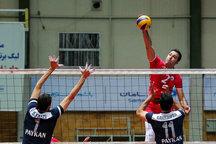 نخستین شکست خانگی والیبالیستهای شهرداری تبریز