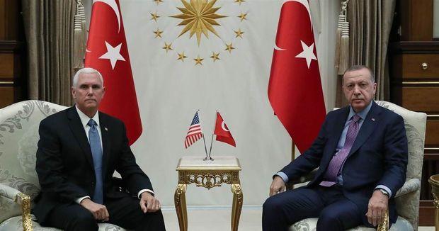 توافق آمریکا و ترکیه بر سر آتش بس در سوریه/ ترامپ: دیگر نیازی به تحریم ترکیه نیست