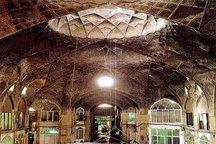 عملیات مرمت بازار توپخانه کرمانشاه پایان یافت