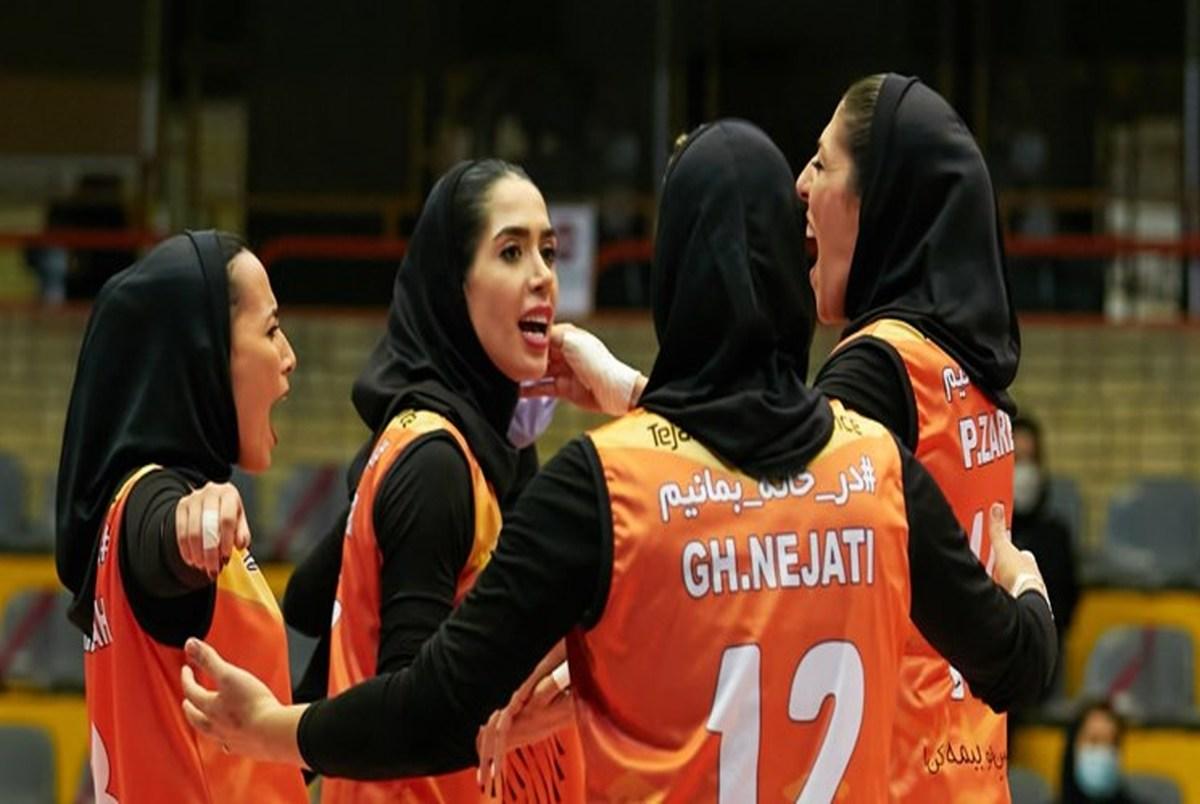 صعود تیم والیبال زنان سایپا به نیمه نهایی باشگاه های آسیا برای نخستین بار