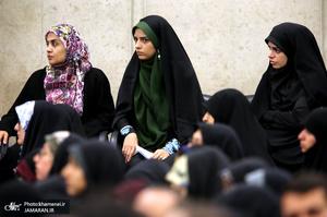 دیدار جمعی از دانشجویان و نمایندگان تشکلهای دانشجویی با رهبر معظم انقلاب اسلامی