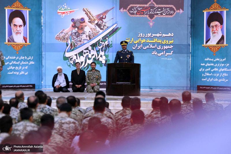 تجدید میثاق فرماندهان پدافند هوایی ارتش با آرمانهای امام خمینی(س)