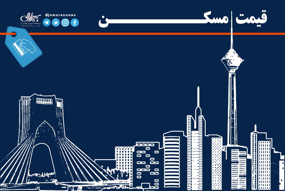قیمت هر متر خانه در شرق تهران/ 10 خرداد 1400جدول