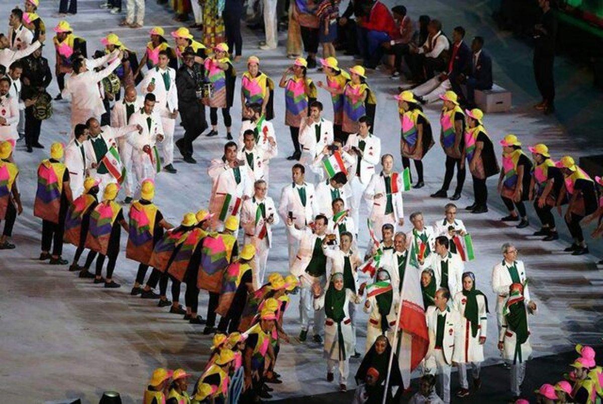 رنگ لباس کاروان ایران در المپیک مشخص شد