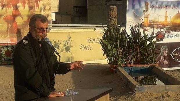 بانوان ایرانی مسیر عاشورایی  را طی می کنند