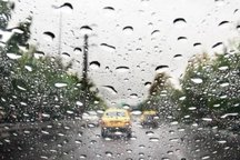 پیش بینی بارش باران در شمال استان تهران