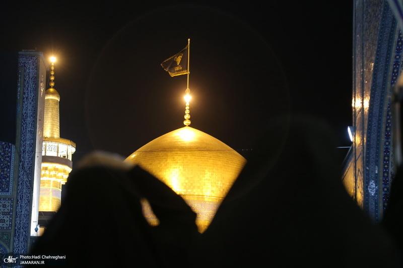 شب شهادت امام رضا(ع) در مشهد مقدس