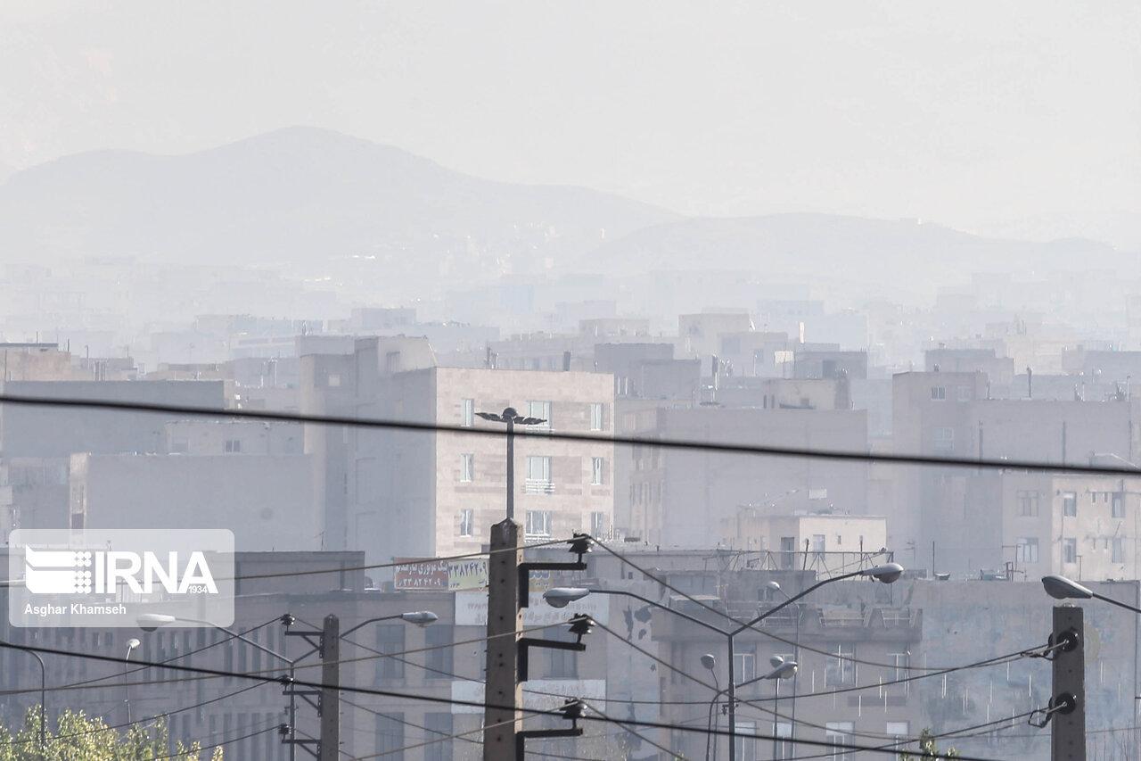 وضعیت هوای اراک برای گروههای سنی حساس ناسالم است