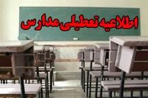 برخی مدارس روستایی در دزفول فردا تعطیل شد