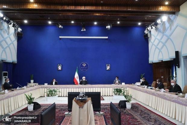 روحانی: امروز 60 میلیون نفر از حمایت معیشتی برخوردارند