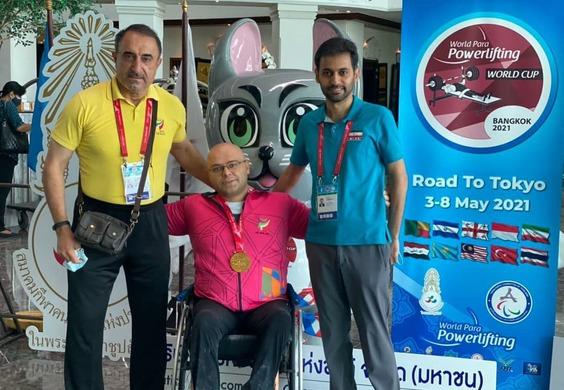 نایب قهرمانی ایران با ۵ مدال طلا و یک نقره