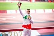 لحظه اهدای مدال طلای امیر خسروانی در پارالمپیک 2020+ عکس