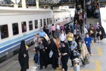 ضریب اشغال قطارهای مسافربری خراسان رضوی افزایش یافت