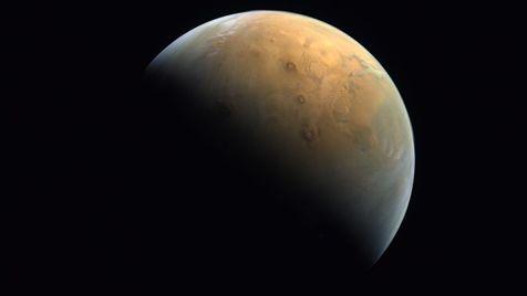 نخستین تصویر کاوشگر امید از مریخ
